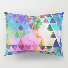 Triangle Universe Pillow Sham