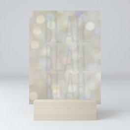 Blah... Mini Art Print