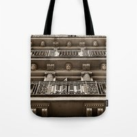 talking heads Tote Bags featuring Heads by Cwenar