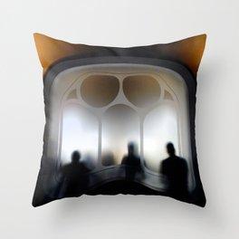 Gaudi Series Casa Batlló No. 4 Throw Pillow