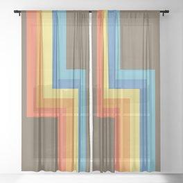 Ahoacati Sheer Curtain