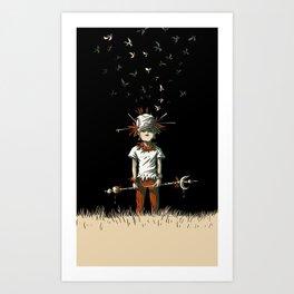 Wildy Art Print