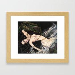 Entangled Mermaid Framed Art Print