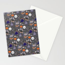 Chubboween Patriarchy Potion Watercolor Pattern Stationery Cards