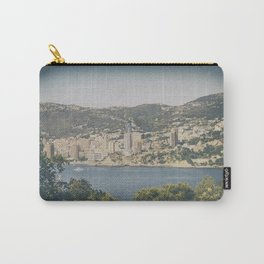 Panoramic view of Monaco from Cap Martin in summer Carry-All Pouch