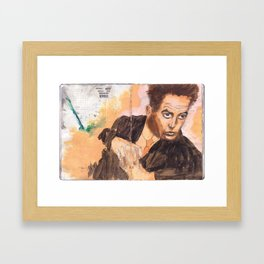 Egon in the Style of Egon Framed Art Print