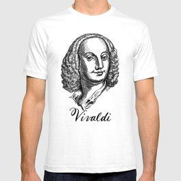 Antonio Vivaldi portrait T-shirt