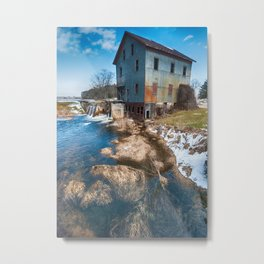 Dates Mill Pond Metal Print