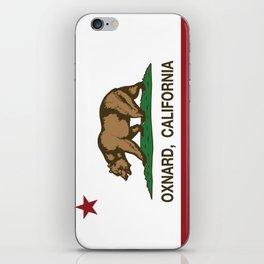 Oxnard California Republic Flag iPhone Skin