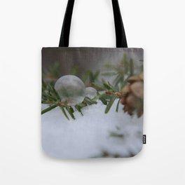 Double Winter Fun Tote Bag