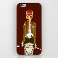 snk iPhone & iPod Skins featuring Bloody Armin by Paula Urruti