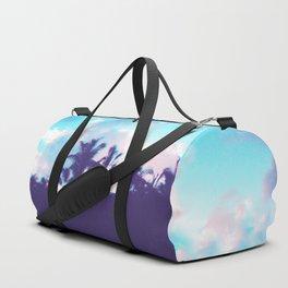 Palm Purple Duffle Bag