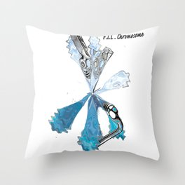 F.I.L Chromosome Throw Pillow