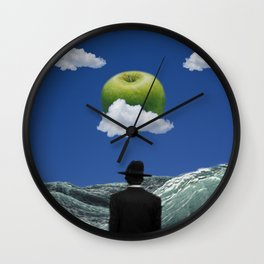 Apple Magritte Wall Clock