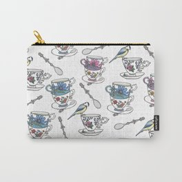 Birdsong Teaparty Carry-All Pouch