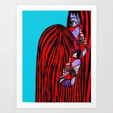 Keeping Secrets Art Print