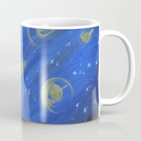 fireflies Mugs featuring Fireflies by Angelina Yvette