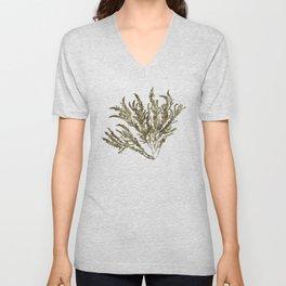 Seaweed Plant Unisex V-Neck