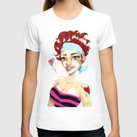 valentina T-shirts featuring Valentina by Lagoonartastic