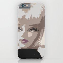 Femme Fatale Portrait iPhone Case