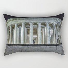 Jefferson Memorial - Side View Rectangular Pillow