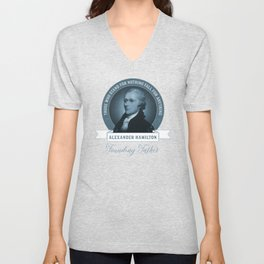 Alexander Hamilton Quote Unisex V-Neck