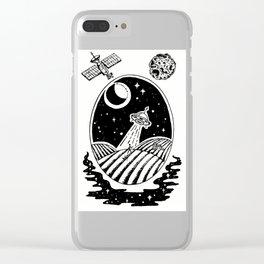 UFO Farm Sighting Clear iPhone Case