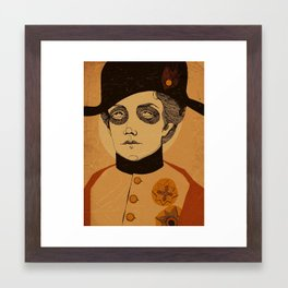 An Officer and a Lady Framed Art Print