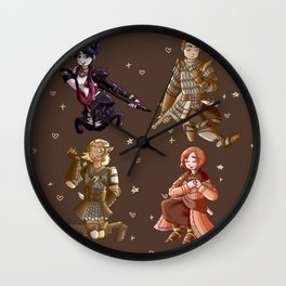 Dragon Age: Origins Companions Wall Clock