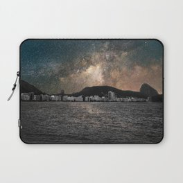 Shiny Sky Over Copacabana Laptop Sleeve