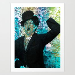 """Fall Faces: Charlie"" Art Print"