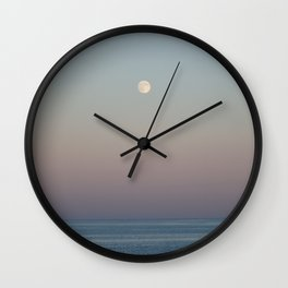 Moon over Manomet Wall Clock