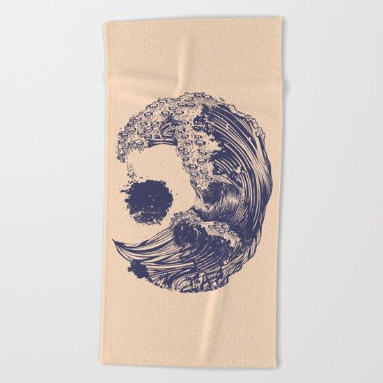 Pugs X Swell Beach Towel
