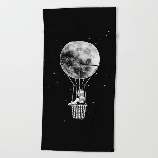 Night Flight Beach Towel