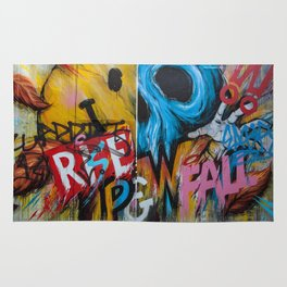 Urban Street Art: RISE & FALL Rug