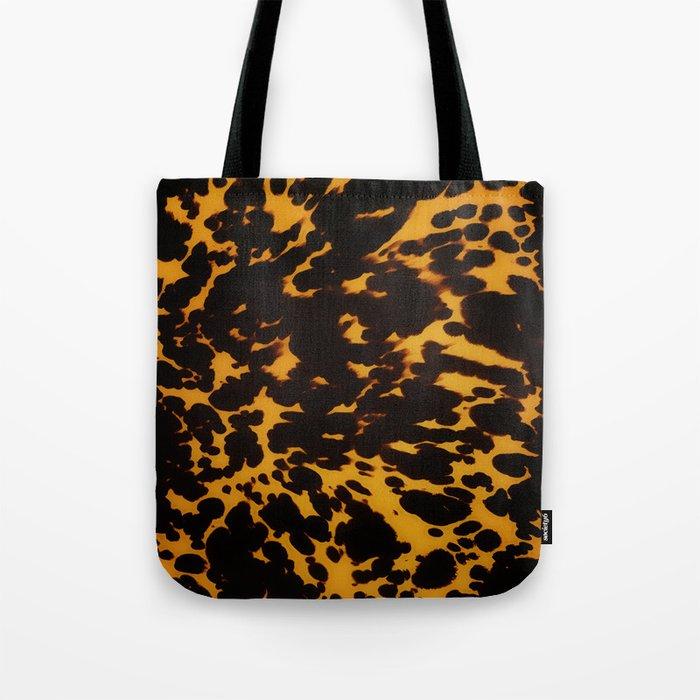 Art Deco polished Tortoise Shell Tote Bag