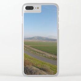 Here Comes the Rooster Clear iPhone Case