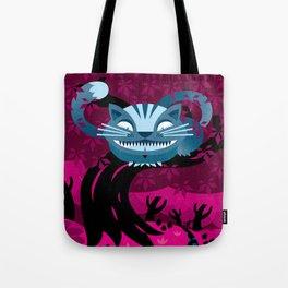 Cheshire smile Tote Bag