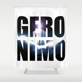 Doctor who Geronimo Shower Curtain