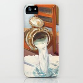 Don't cry over spilled milk iPhone Case