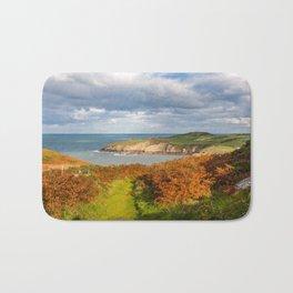 Porth Wen, White Bay, Llanbadrig, Anglesey, Wales, United Kingdom, UK Bath Mat