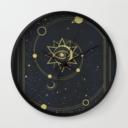 The Solar System Wall Clock