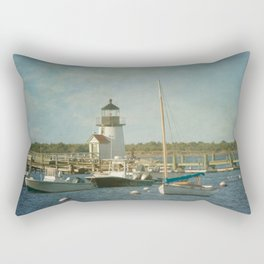 Welcome to Nantucket Rectangular Pillow