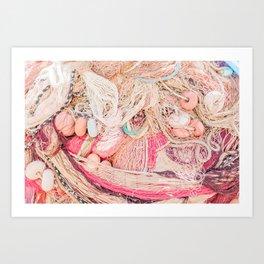 Italia Fishing Village Art Print