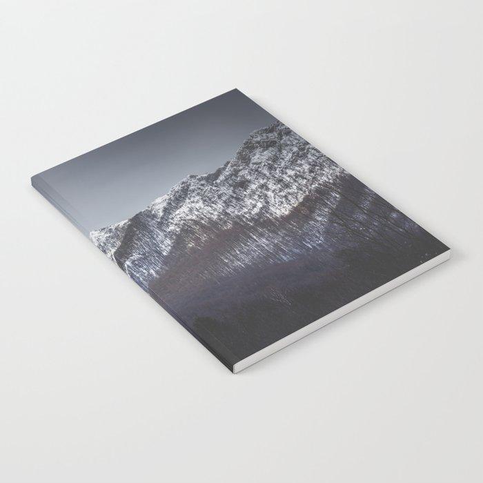 Snowy Mountain Range Notebook
