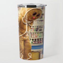 Gingerbread Man At Large Pt2 Travel Mug