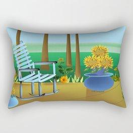 """""""The Porch"""" Rectangular Pillow"""