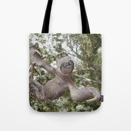 Sloth, A Real Tree Hugger Tote Bag
