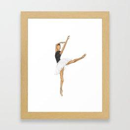 Prima Ballerina Framed Art Print