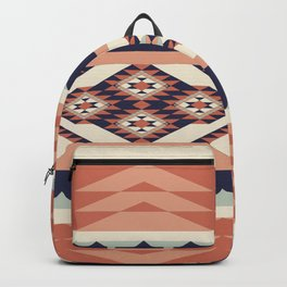 Native American Geometric Pattern Backpack